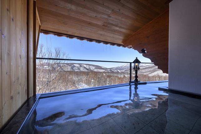 志賀高原での露天風呂