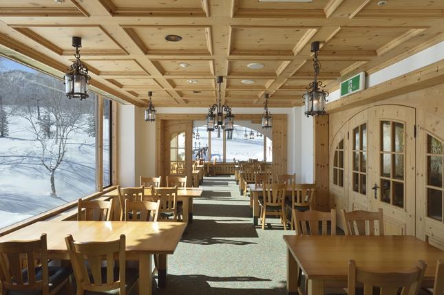 ホテルグランフェニックス奥志賀のレストラン