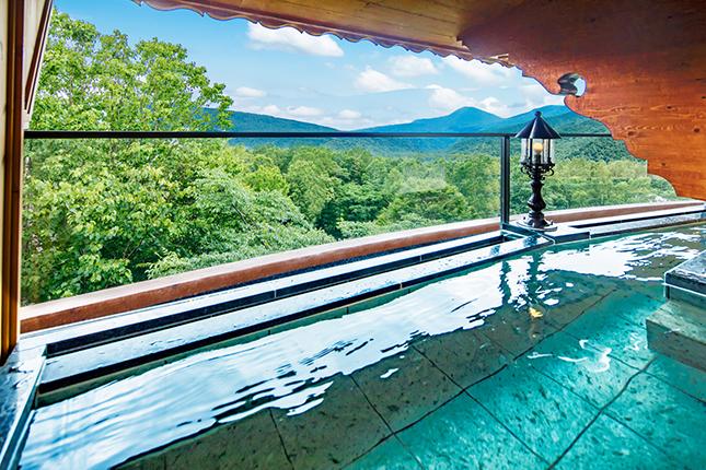 奥志賀高原の露天風呂