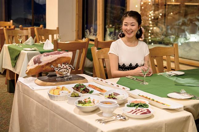レディースプランのホテルグランフェニックス奥志賀
