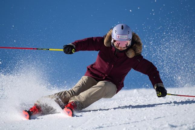 スキーリーダー松沢聖佳