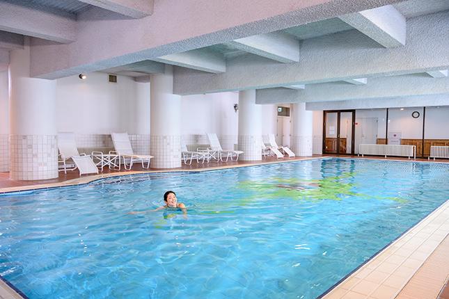 ホテルグランフェニックス奥志賀のプール