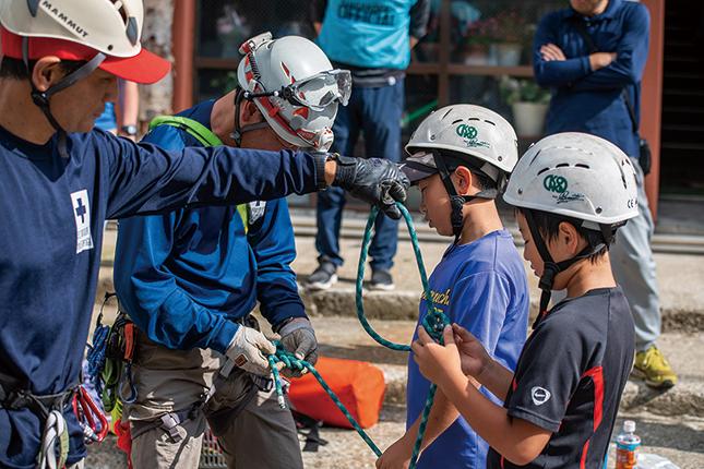奥志賀高原での山岳救助体験